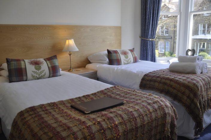 Arden House Harrogate Twin Bedroom
