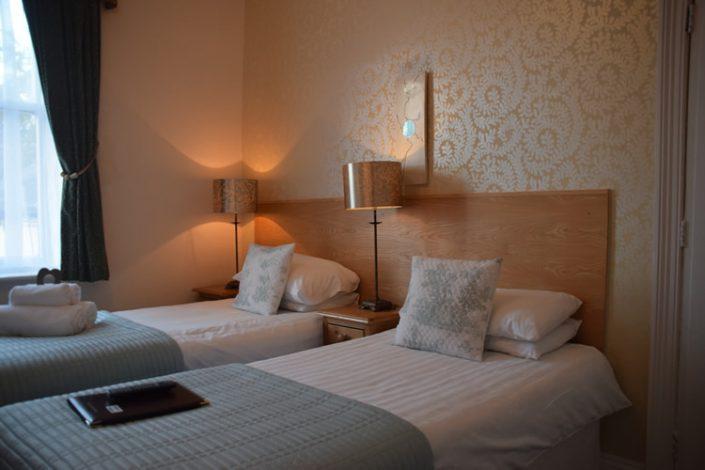 Arden House Twin Bedroom Harrogate